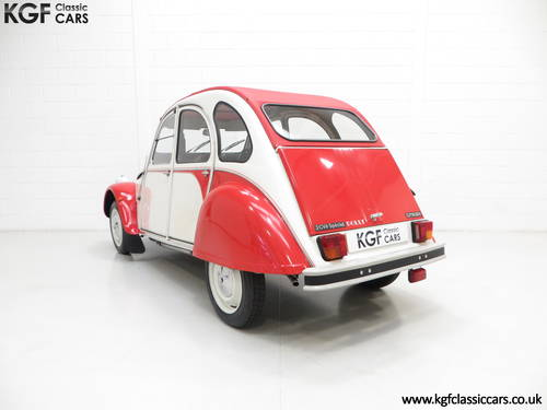 1988 A Charming Citroen 2CV6 Special Dolly with One Former Keeper SOLD (picture 4 of 6)