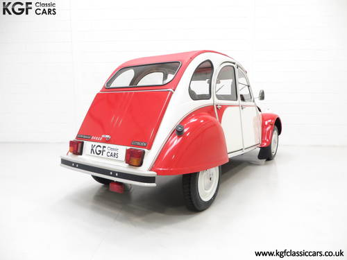 1988 A Charming Citroen 2CV6 Special Dolly with One Former Keeper SOLD (picture 5 of 6)