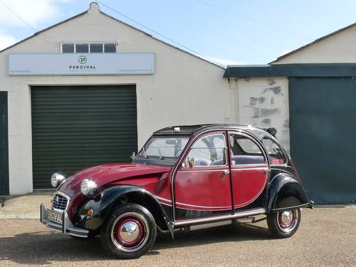 1983 Citroen 2CV Charleston, galvanised chassis, new engine SOLD (picture 1 of 6)