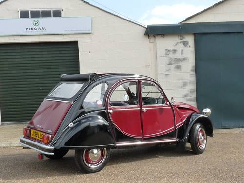 1983 Citroen 2CV Charleston, galvanised chassis, new engine SOLD (picture 2 of 6)