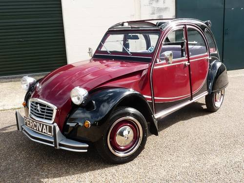 1983 Citroen 2CV Charleston, galvanised chassis, new engine SOLD (picture 3 of 6)