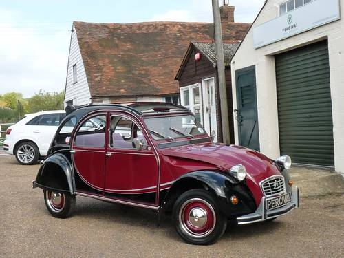 1983 Citroen 2CV Charleston, galvanised chassis, new engine SOLD (picture 6 of 6)