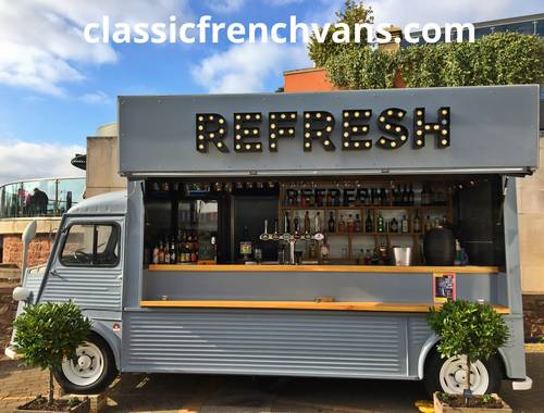 1960 Citroen H Van Long wheel Base, 5.5m, High Roof. Food/Bar For Sale (picture 2 of 6)