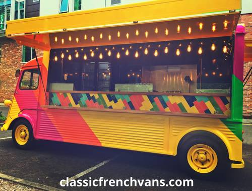 1960 Citroen H Van Long wheel Base, 5.5m, High Roof. Food/Bar For Sale (picture 4 of 6)