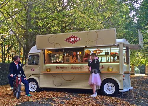 1960 Citroen H Van Long wheel Base, 5.5m, High Roof. Food/Bar For Sale (picture 6 of 6)