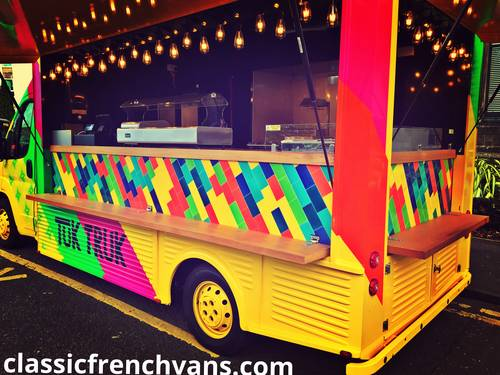 2013 Citroen hy van styled, modern food truck/bar van/marketing For Sale (picture 3 of 6)