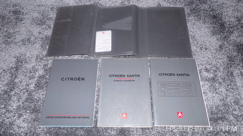 2002 Citroen Xantia  owners  handbooks. For Sale (picture 3 of 3)