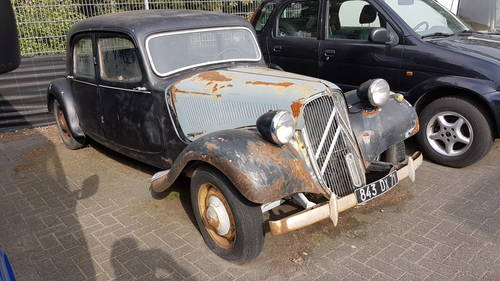 Citroën Traction Avant Normale, 1954, rhd, € 4.900,- For Sale (picture 1 of 6)
