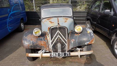 Citroën Traction Avant Normale, 1954, rhd, € 4.900,- For Sale (picture 2 of 6)