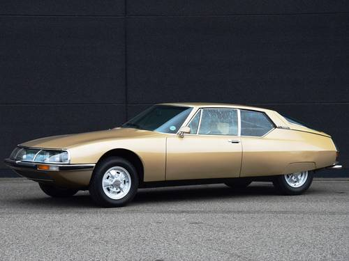 1971 Fantastic Citroën SM in the best colour combination. SOLD (picture 1 of 6)
