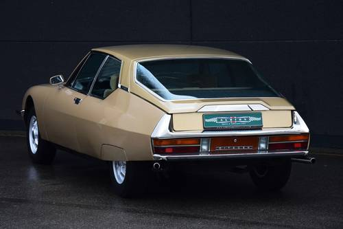 1971 Fantastic Citroën SM in the best colour combination. SOLD (picture 3 of 6)