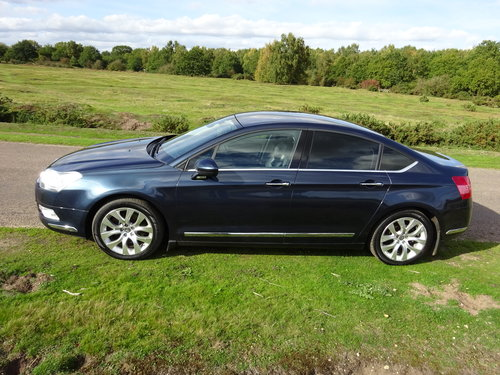 2009 CITROEN C5 2.7HDi,EXCLUSIVE,BOURRASQUE BLUE SOLD (picture 2 of 6)