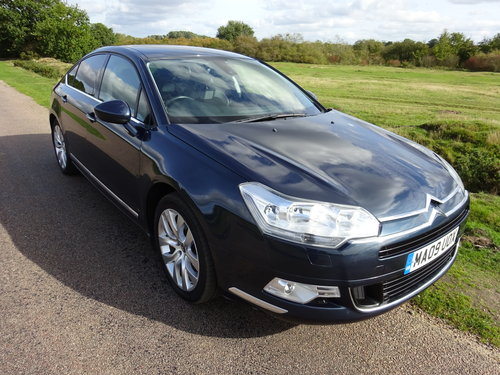 2009 CITROEN C5 2.7HDi,EXCLUSIVE,BOURRASQUE BLUE SOLD (picture 4 of 6)