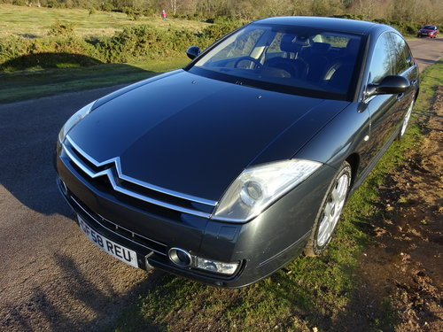 2008 (58) CITROEN C6 2.7HDi,GREY,HALF LEATHER,32,000 MILES SOLD (picture 1 of 6)