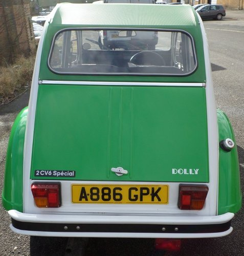 NOW SOLD Citroen 2 CV DOLLY DEUX CHEVAUX For Sale (picture 4 of 6)
