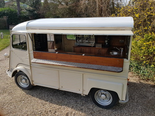1973 Citroen HY VAN - Coffee van fully fitted SOLD (picture 1 of 6)
