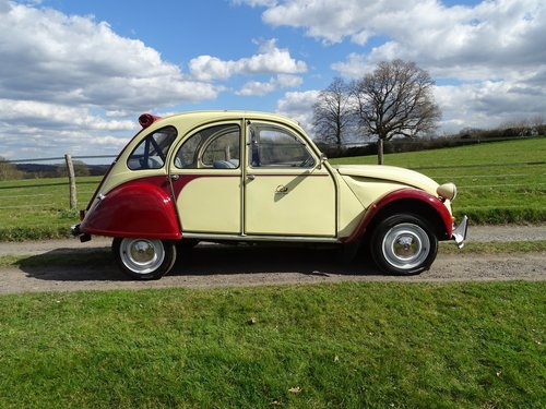 Absolutely delightful 1988 Citroen 2CV6 Plums and Custard SOLD (picture 2 of 6)