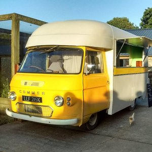 1972 classic vintage bar van catering coffee commer