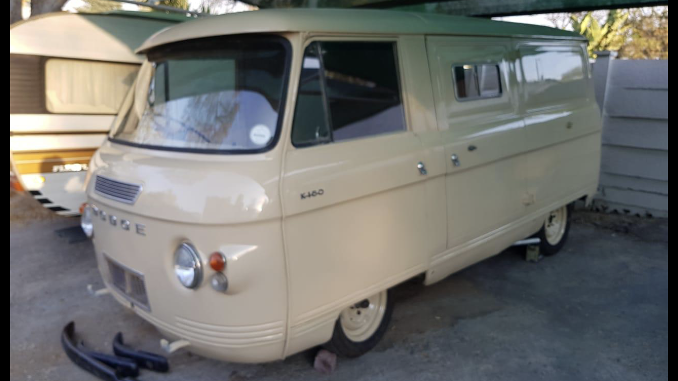 1969 Dodge Commer Panel Van For Sale (picture 1 of 6)
