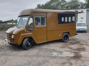 1971 Dodge van Commer walk-thru step van like UPS van