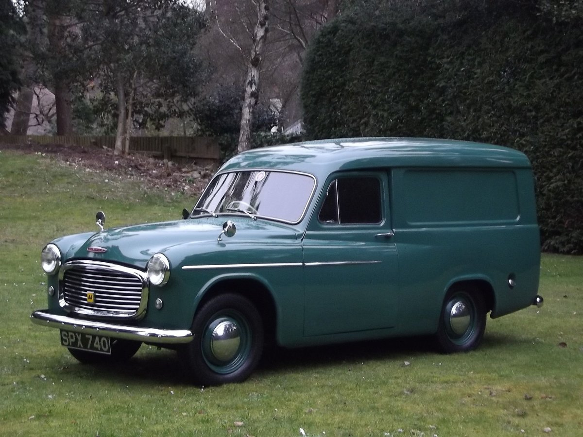 1955 COMMER EXPRESS DELIVERY VAN For Sale (picture 2 of 6)
