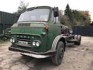 1971 Commer ts3 maxi load chassis cab truck For Sale