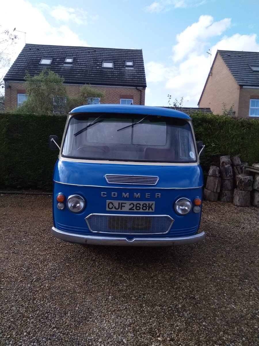 1972 Commer pickup SOLD (picture 1 of 6)