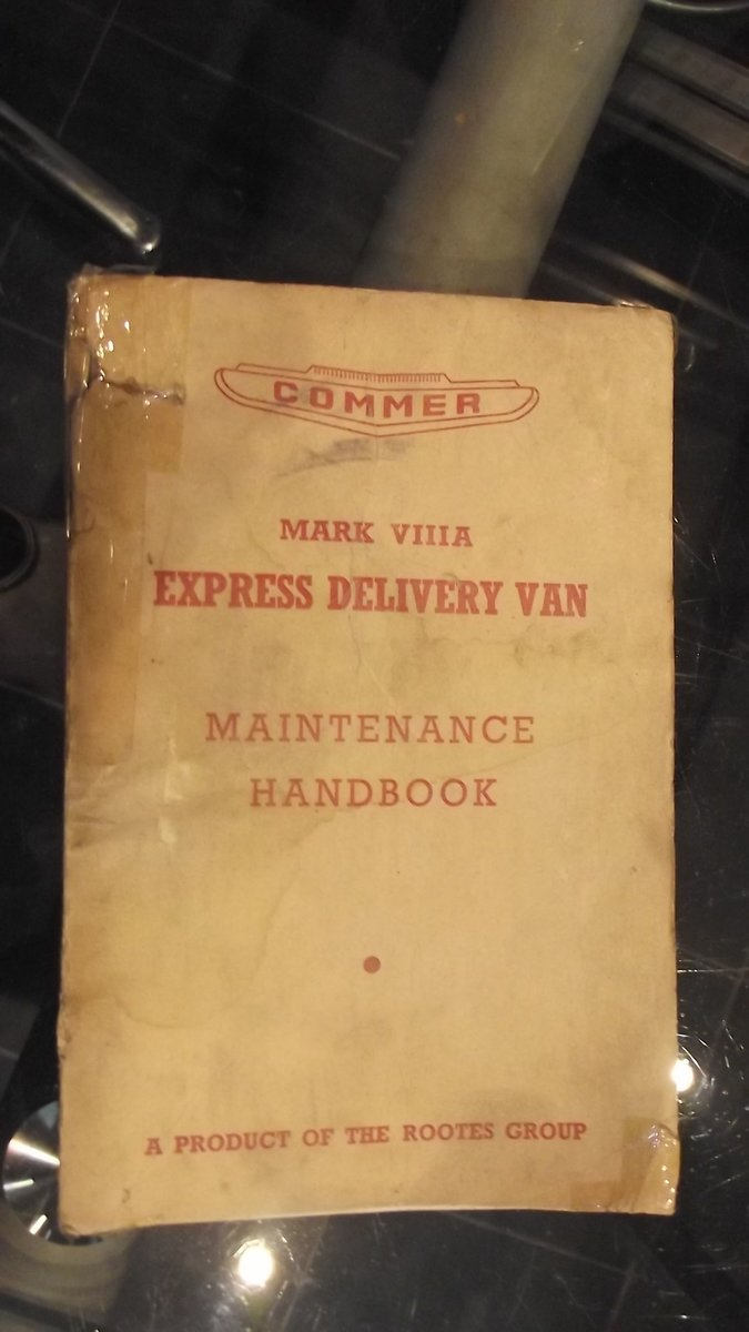 0000 COMMER EXPRESS OWNERS HANDBOOK AND COBB 1949 ADVERT For Sale (picture 1 of 2)