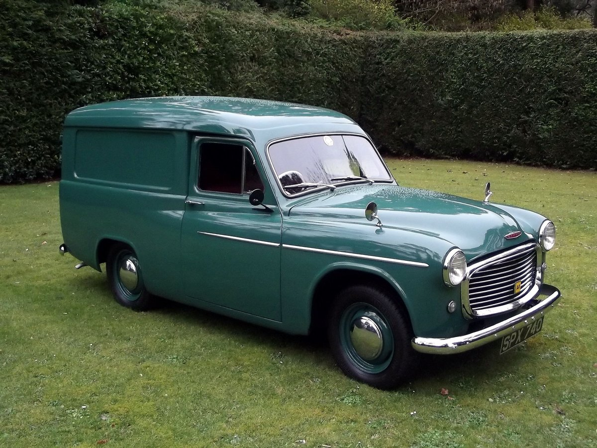 1955 COMMER EXPRESS DELIVERY VAN SOLD (picture 1 of 6)