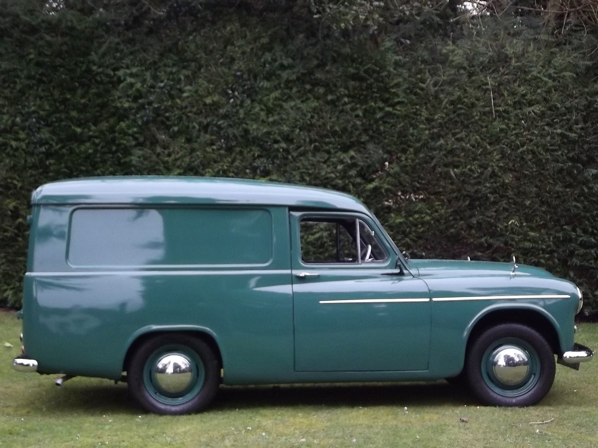 1955 COMMER EXPRESS DELIVERY VAN SOLD (picture 2 of 6)