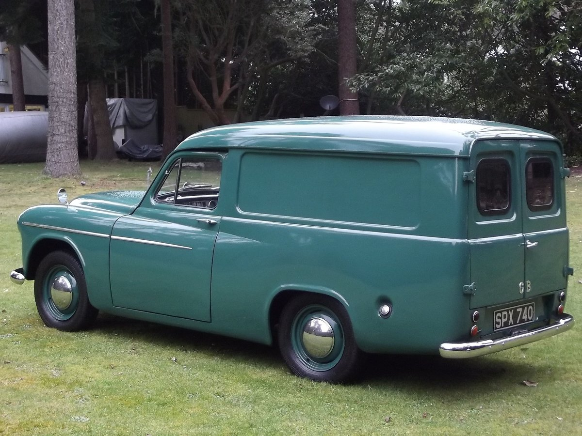 1955 COMMER EXPRESS DELIVERY VAN SOLD (picture 3 of 6)