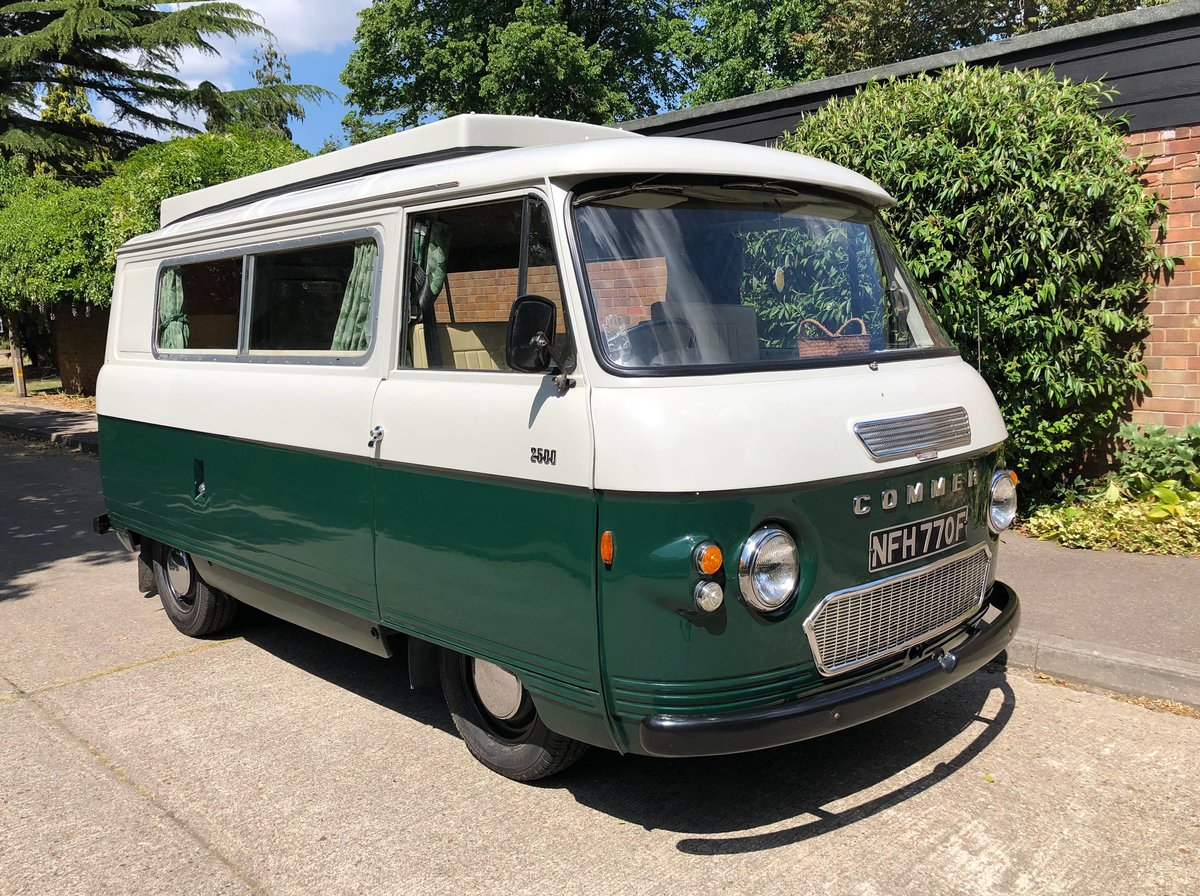 1967 Commer 2500PB Classic Campervan SOLD (picture 1 of 6)