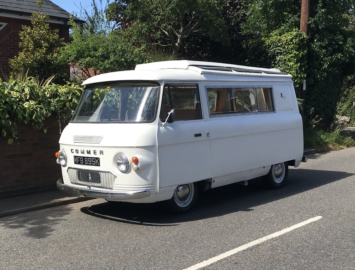 1973 Commer PB Campervan For Sale (picture 1 of 6)