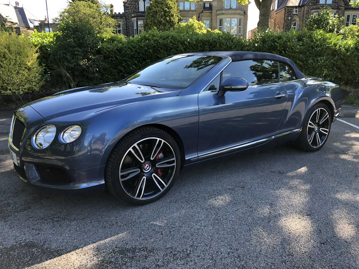 2015 Bentley Continental GTC - 21,000 mls For Sale (picture 1 of 12)
