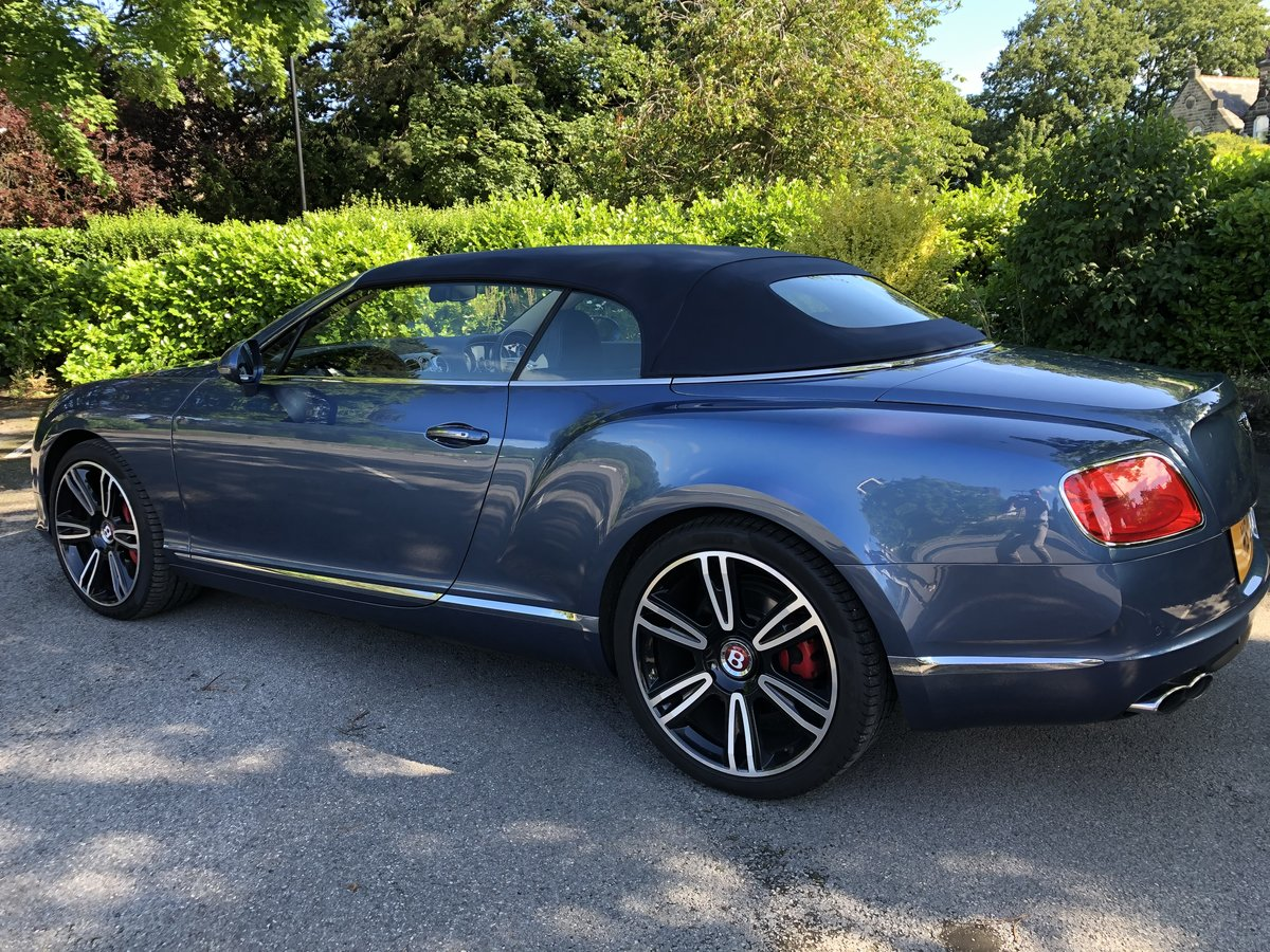 2015 Bentley Continental GTC - 21,000 mls For Sale (picture 2 of 12)