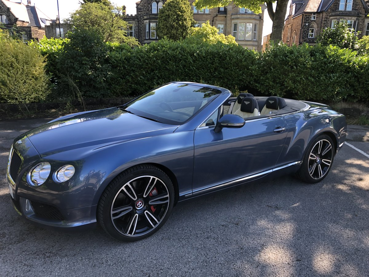 2015 Bentley Continental GTC - 21,000 mls For Sale (picture 4 of 12)