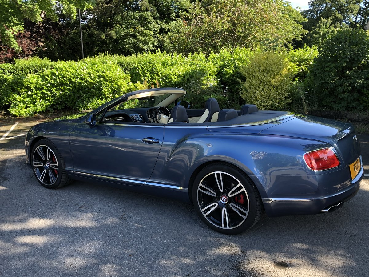 2015 Bentley Continental GTC - 21,000 mls For Sale (picture 5 of 12)