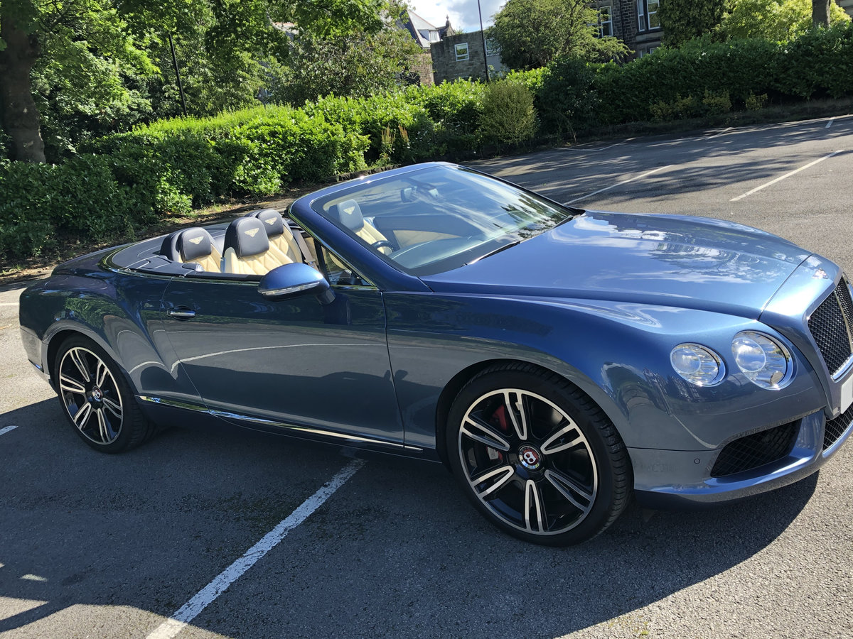 2015 Bentley Continental GTC - 21,000 mls For Sale (picture 6 of 12)