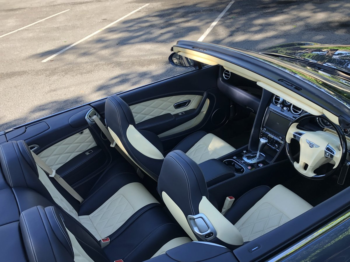 2015 Bentley Continental GTC - 21,000 mls For Sale (picture 7 of 12)