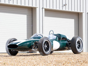 THE EX-WORKS, SIR JACK BRABHAM 1961 COOPER CLIMAX 1.5-2.5 For Sale by Auction