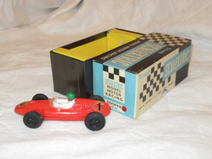 Scalextric single seat race car circa 1960