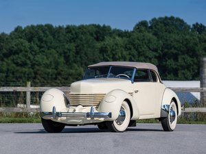 1937 Cord 812 Phaeton  For Sale by Auction