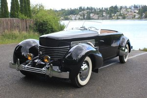 1937 Cord 812 Phaeton - Lot 653 For Sale by Auction