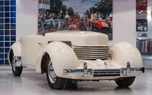 1937 Cord 812 Supercharged Phaeton RHD For Sale