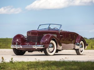1937 Cord 812 Supercharged Cabriolet  For Sale by Auction