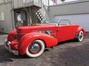 1937 Cord 812 Supercharged Phaeton  For Sale by Auction