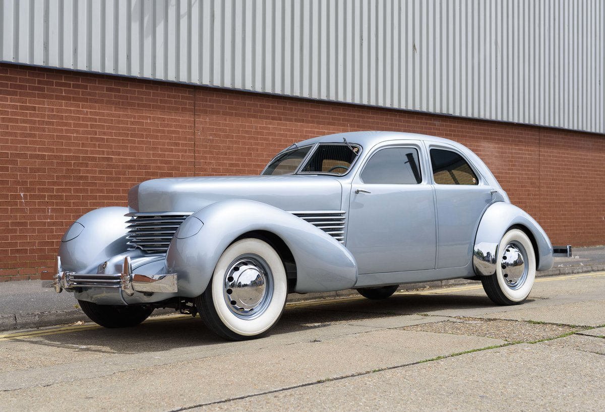 1937 Cord 810 Beverly Sedan (LHD) For Sale (picture 1 of 24)