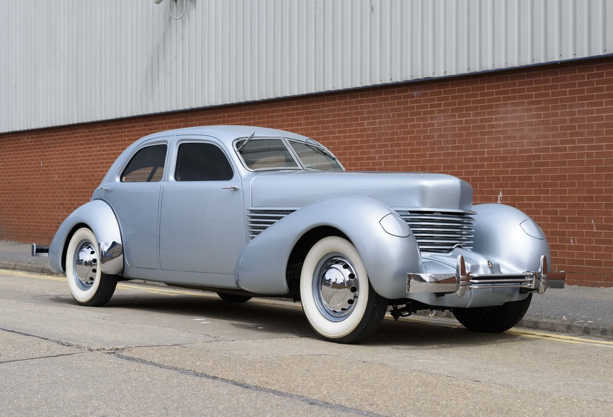 1937 Cord 810 Beverly Sedan (LHD) For Sale (picture 2 of 24)