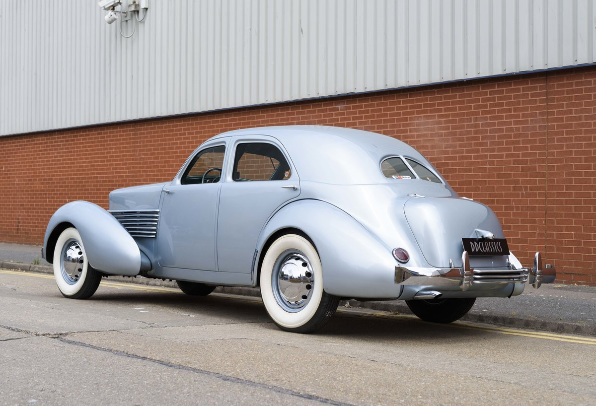 1937 Cord 810 Beverly Sedan (LHD) For Sale (picture 4 of 24)