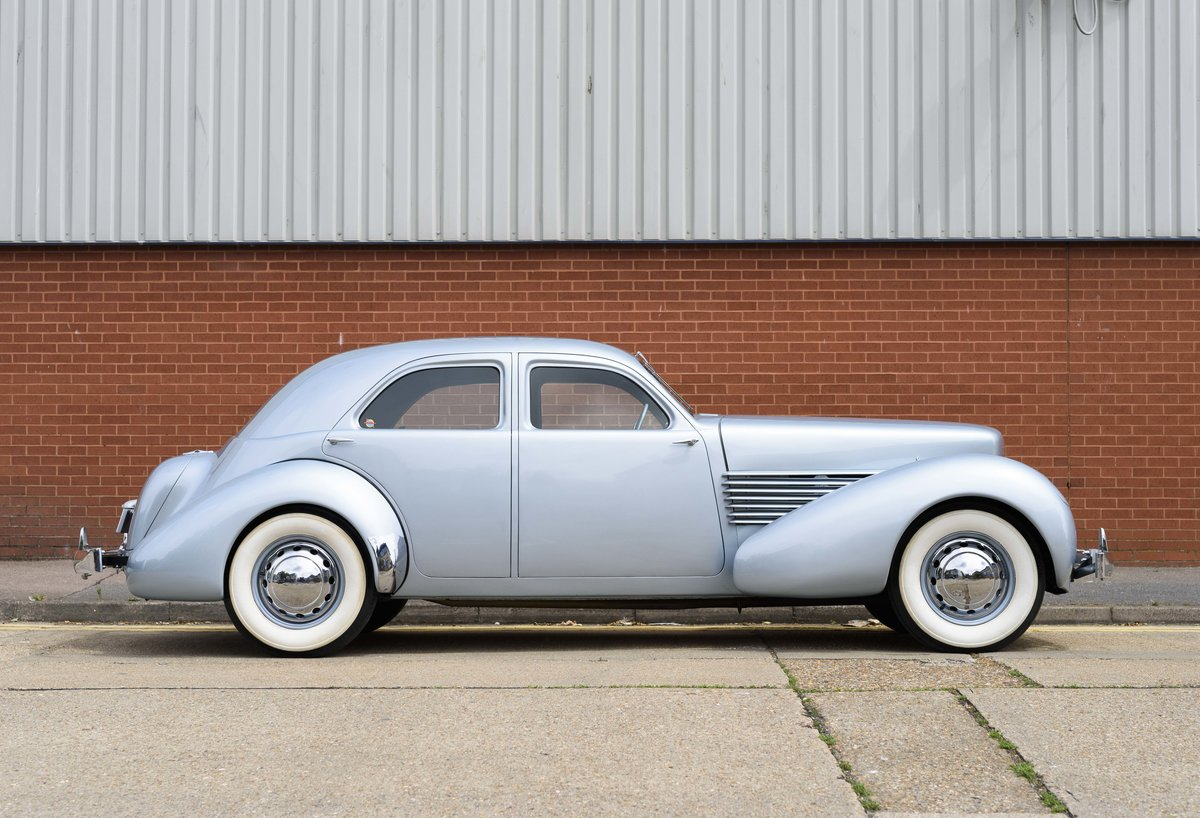 1937 Cord 810 Beverly Sedan (LHD) For Sale (picture 5 of 24)